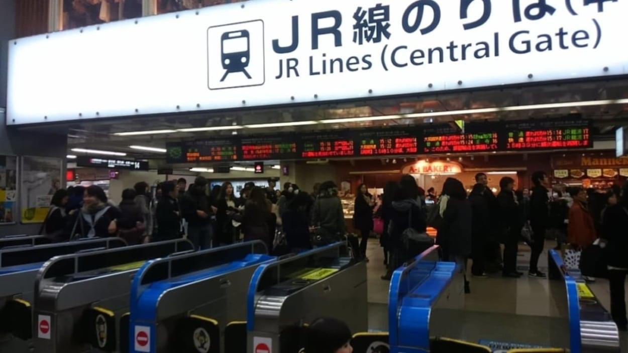 【天王寺区】大幅遅延、運転取り止め続く、本日10日午後、JR天王寺駅で接触事故が発生