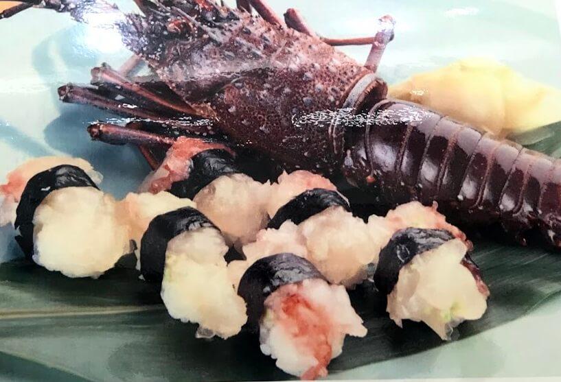 魚市伊勢えびの寿司