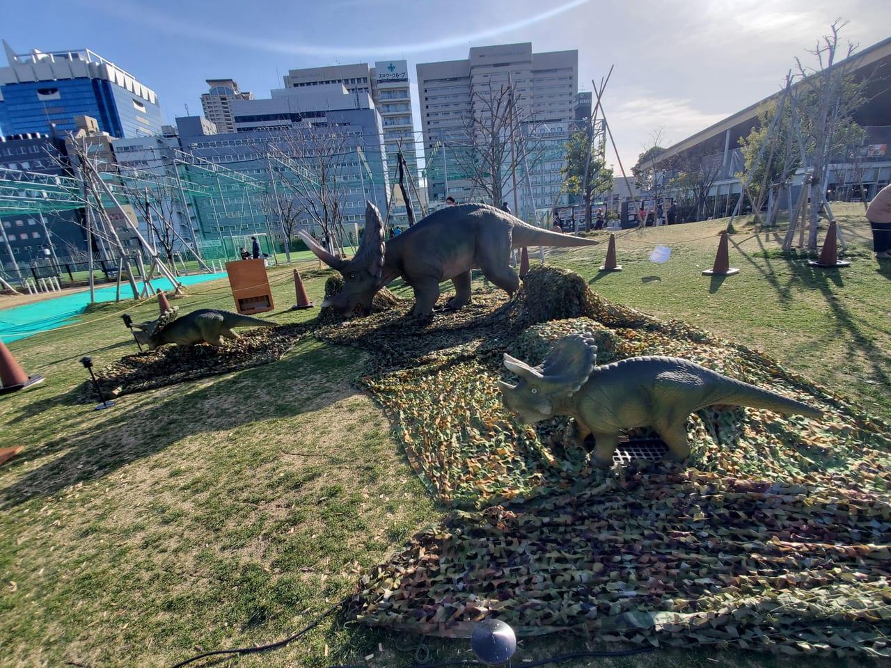 てんしば恐竜