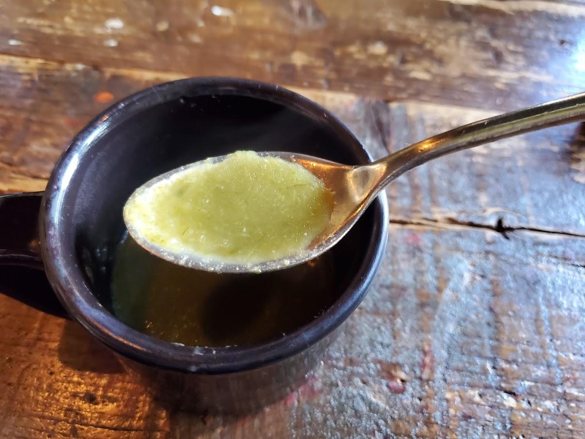 葉たまねぎのスープ